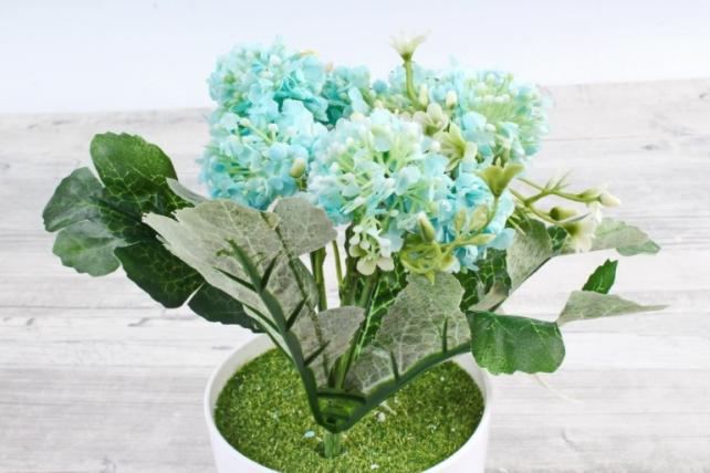 Искусственное растение -  Астранция голубая