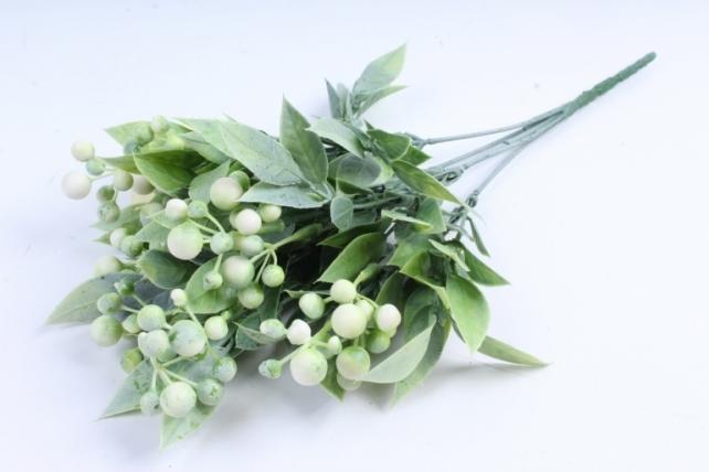 Искусственное растение -  Боярышник 5 веток белый Б9288