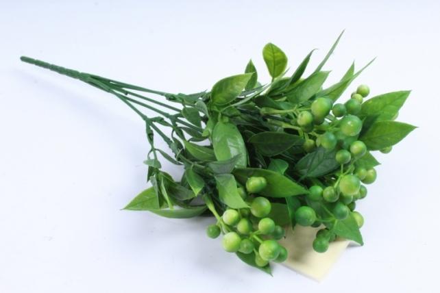 Искусственное растение -  Боярышник 5 веток зелёный Б9288