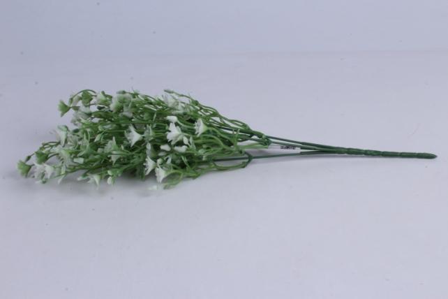 искусственное растение - букет белый h=37cm