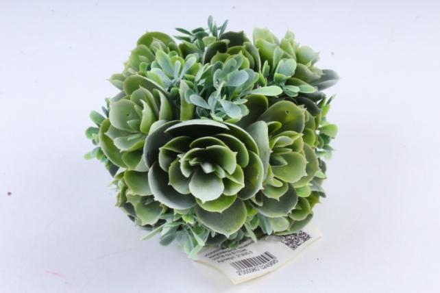 Искусственное растение -  Букет конусовидной каменной розы зелёный  Б10246
