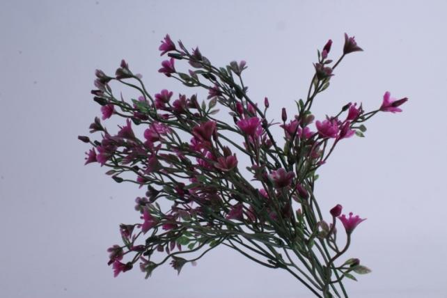 искусственное растение - букет малиновый h=37cm