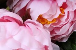 искусственное растение - букет пиона 64 см нежно-розовый sun122