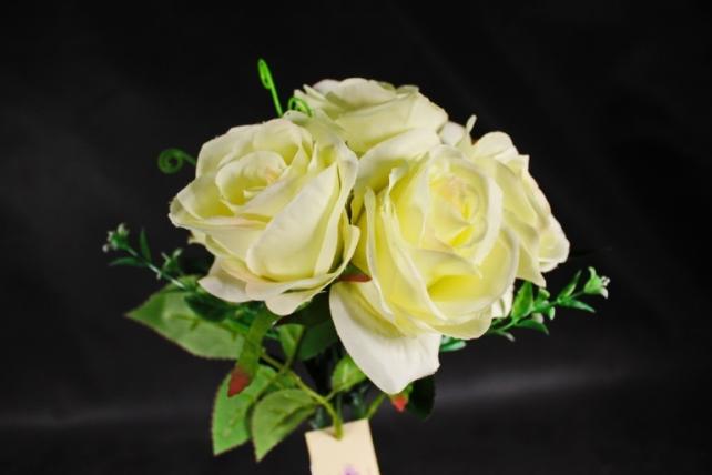 Искусственное растение- Букет роз  (7 шт) KWLA272ZR