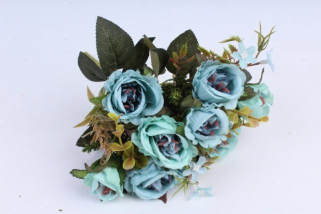 Искусственное растение -  Букет розы Асти тиффани