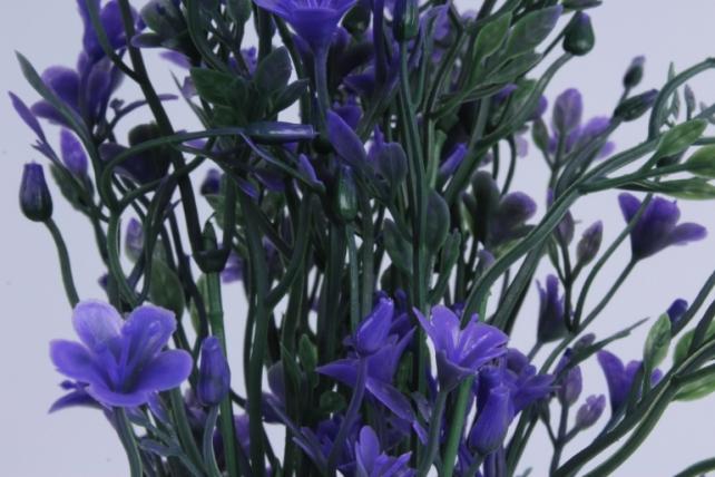 искусственное растение - букет сиреневый h=37cm