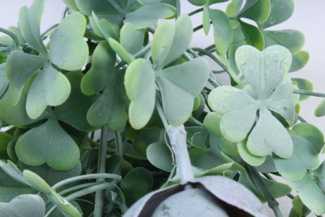 Искусственное растение -  Букет суккулента каменная роза малиновый  Б10247
