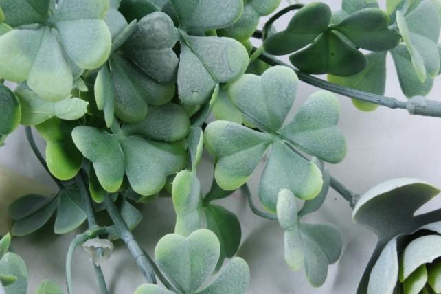 Искусственное растение -  Букет суккулента каменная роза зелёный  Б10247