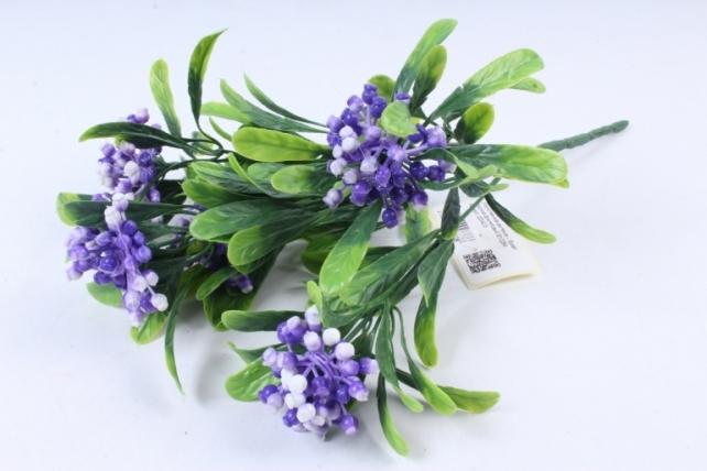 Искусственное растение -  Букет ягодника фиолетовый Б10284