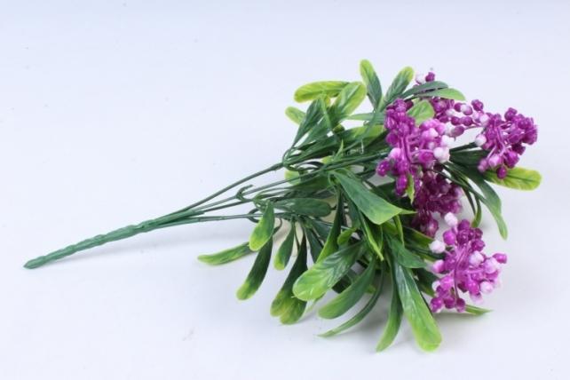 Искусственное растение -  Букет ягодника фуксия Б10284