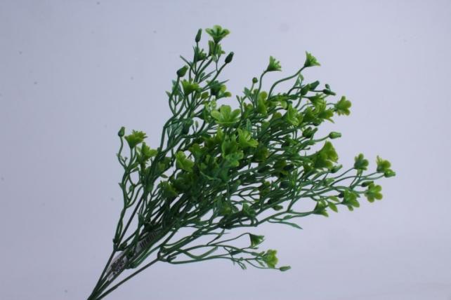 искусственное растение - букет зелёный h=37cm