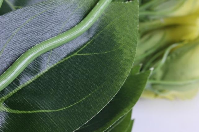 искусственное растение - цветок эустомы (12 шт в уп) салатовый 45 см sun357