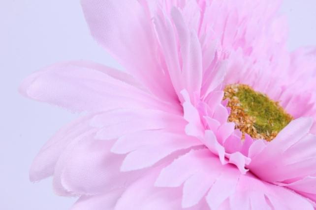 искусственное растение - цветок герберы 60 см розовый sun348