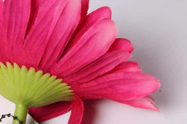 искусственное растение - цветок герберы 60 см ярко-малиновый sun348