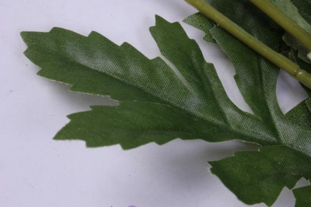 искусственное растение - цветок хризантемы (6 шт в уп) 55 см фиолетовый sun469