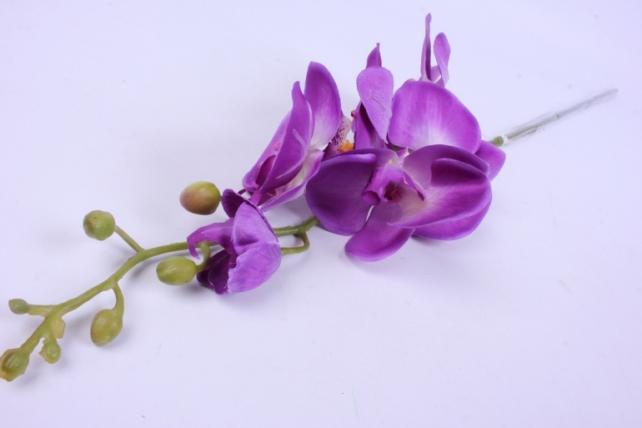 Искусственное растение - Цветок Орхидеи 85 см Фиолетовая SUN437