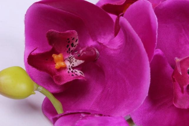 искусственное растение - цветок орхидеи 85 см фуксия sun437