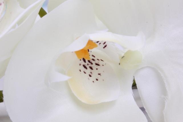 искусственное растение - цветок орхидеи 85 см шампань sun437