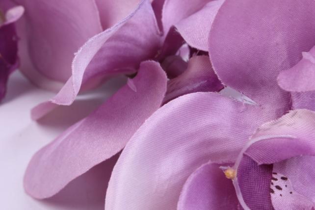 искусственное растение - цветок орхидеи 85 см сиреневая sun437