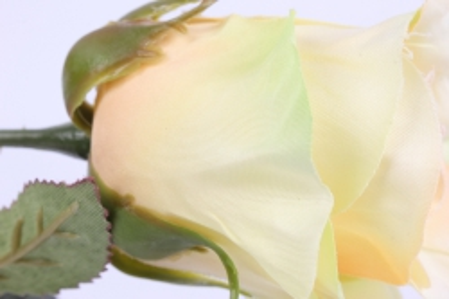искусственное растение - цветок розы 60 см жёлтый sun411