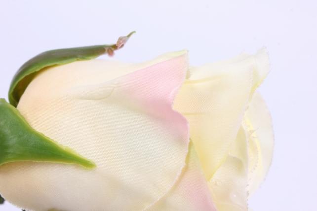 искусственное растение - цветок розы 60 см кремовый sun411