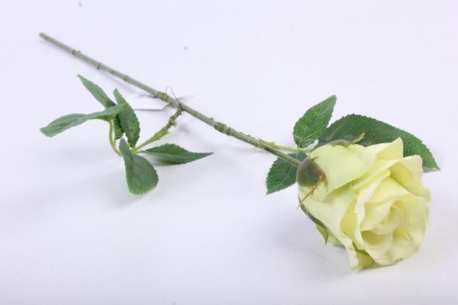 Искусственное растение - Цветок Розы 60 см Салатовый SUN411