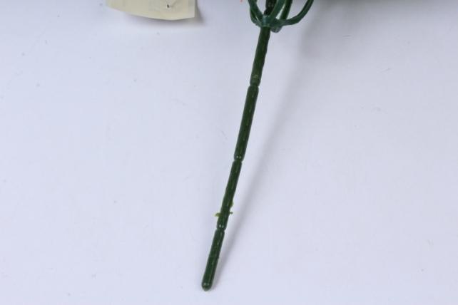 искусственное растение - цветы яркие 20 см красные