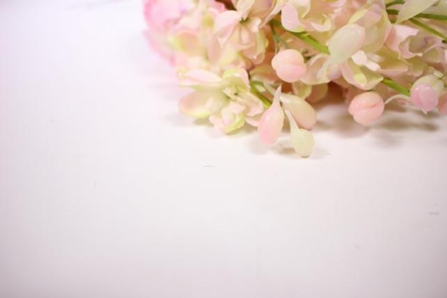 искусственное растение - дельфиниум 40см розовый (12 шт в уп) sun476