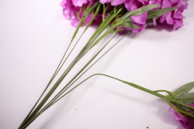 искусственное растение - дельфиниум 40см сиреневый  (12 шт в уп) sun476