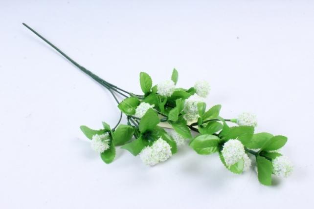 Искусственное растение -  Ёжики белые  В6321