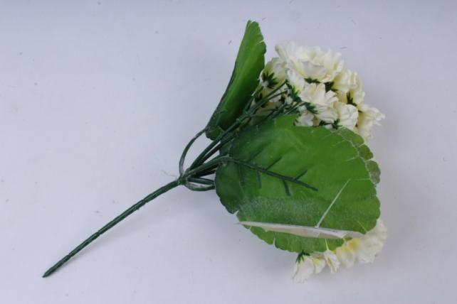 искусственное растение - фиалки махровые шампань