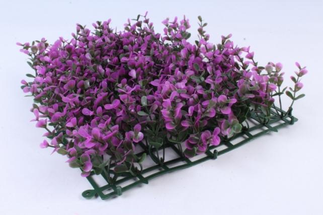 Искусственное растение -  Газон самшит фуксия  Д10176
