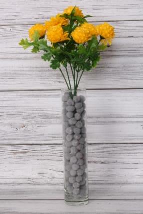 Искусственное растение -  Георгинчики мини жёлтые