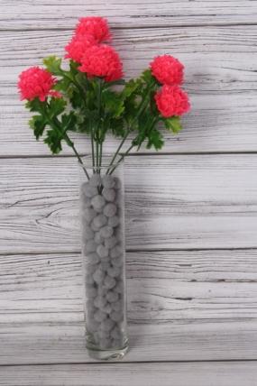 Искусственное растение -  Георгинчики мини ярко-розовые