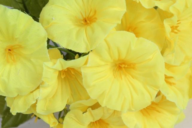 искусственное растение - герань жёлтая h=30cm