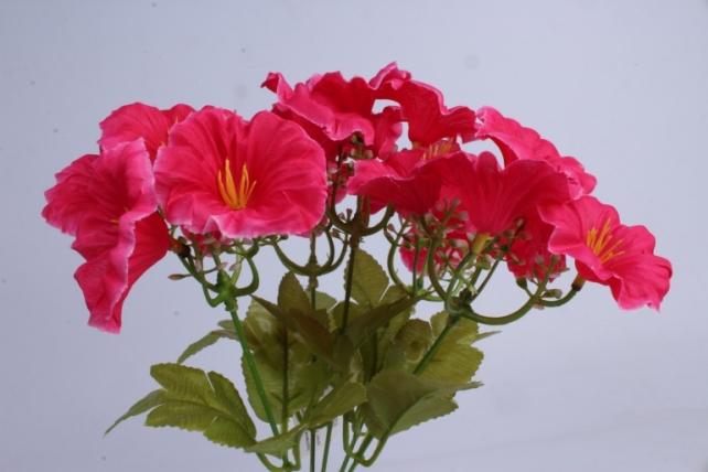 искусственное растение - герань малиновая h=30cm