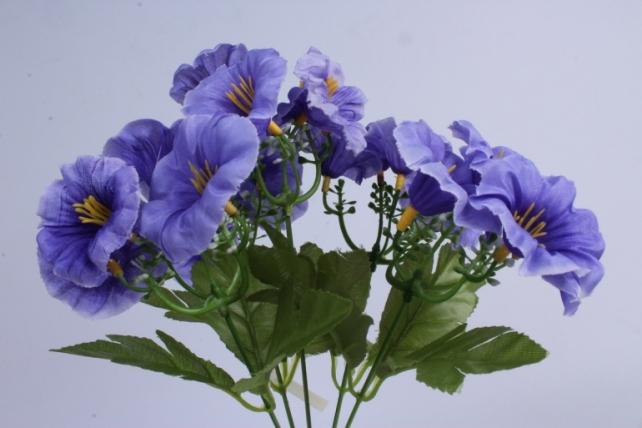 искусственное растение - герань синяя h=30cm