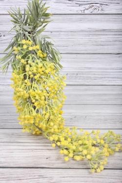 Искусственное растение -  Гипсофила ампельная жёлтая  65 см 21KW048