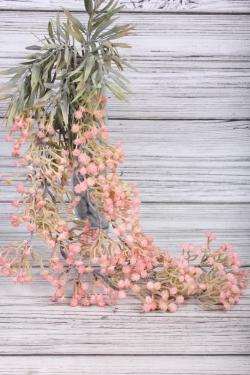 Искусственное растение -  Гипсофила ампельная розовая   65 см 21KW048