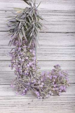 Искусственное растение -  Гипсофила ампельная сиреневая   65 см 21KW048