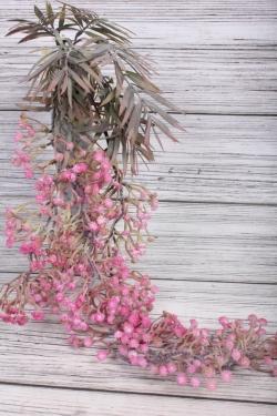 Искусственное растение -  Гипсофила ампельная ярко-розовая  65 см 21KW048