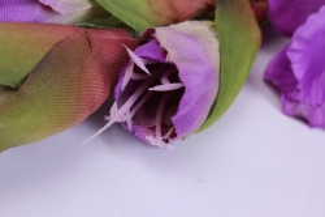 искусственное растение - гладиолус 85 см фиолетовый sun367
