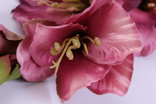 искусственное растение - гладиолус 85 см розово-пурпурный sun367