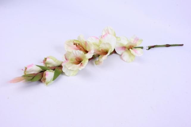 Искусственное растение - Гладиолус 85 см Шампань SUN367