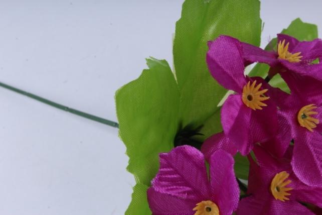искусственное растение - гортензия 20 см сиреневая