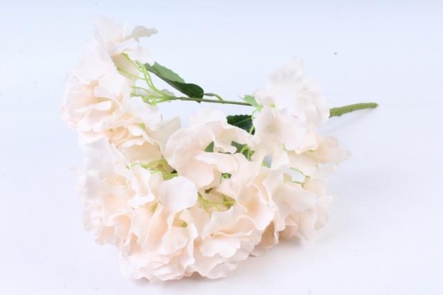 Искусственное растение -  Гортензия Форевер кремовая  б10329