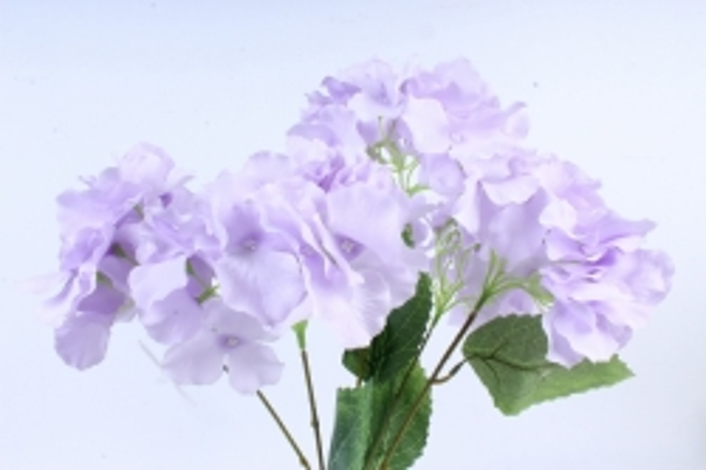 Искусственное растение -  Гортензия Форевер лиловая  б10329