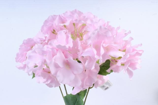 Искусственное растение -  гортензия Форевер розовая  б10329