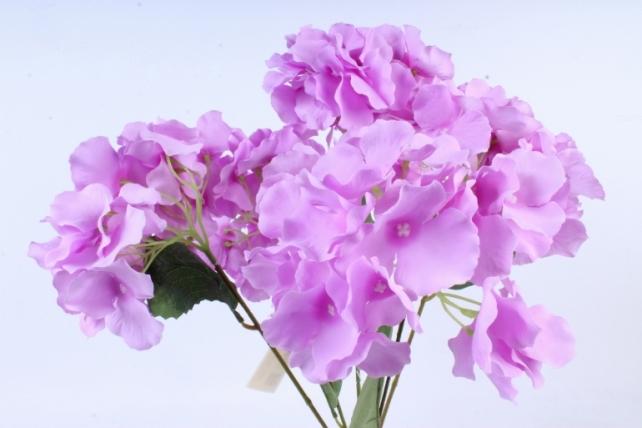 Искусственное растение -  Гортензия Форевер сиреневая  б10329