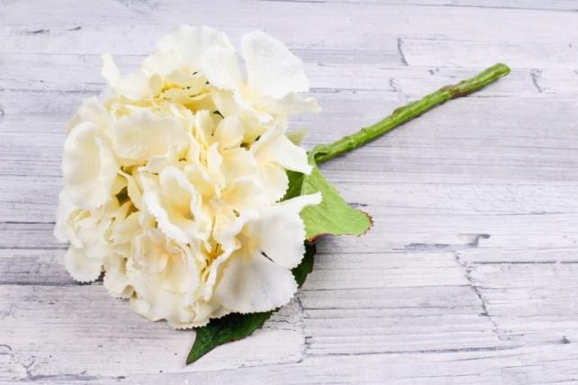 Искусственное растение -  Гортензия кремовая